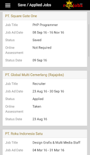 Rajajobs- gambar mini screenshot
