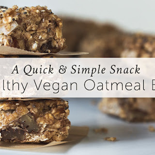 Healthy Vegan Oat Bar Recipe (Gluten-Free).