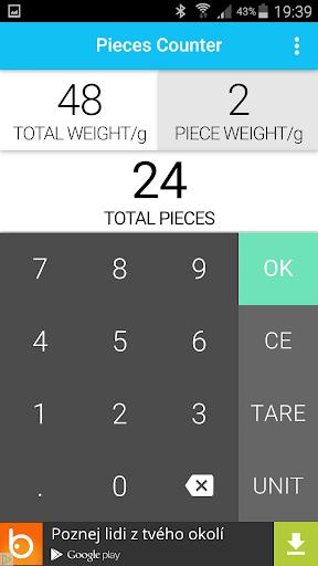 Pieces Counter Calculator
