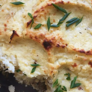 Easy Potato Soufflé.