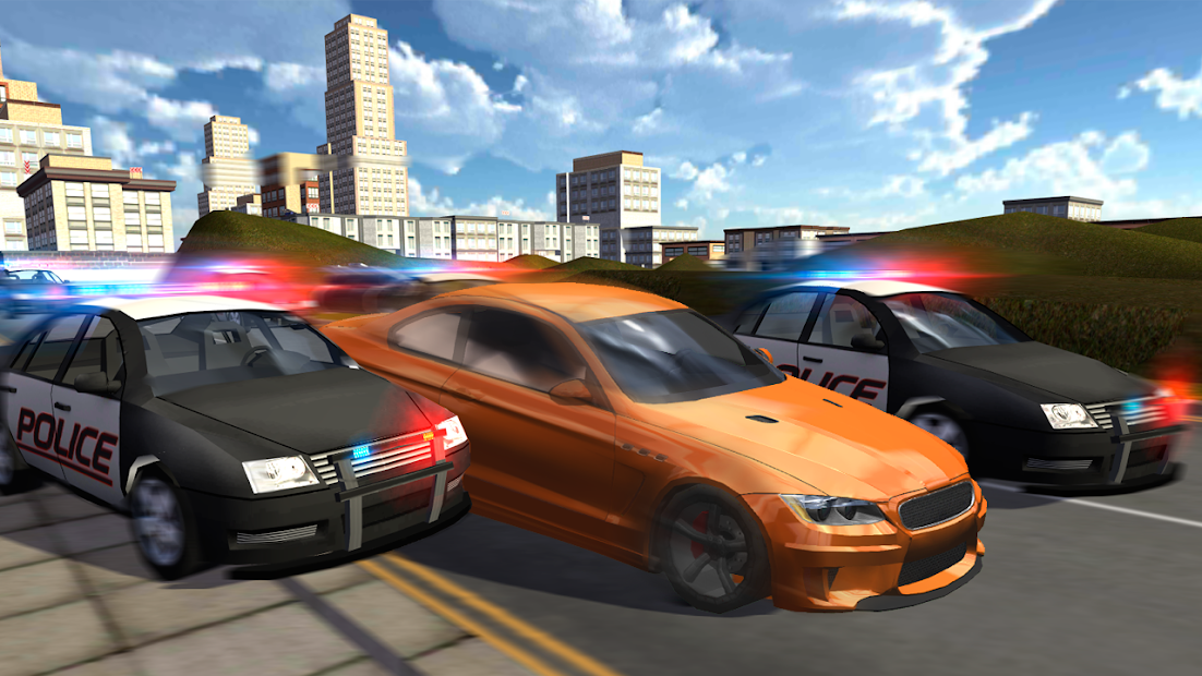Extreme Car Driving Racing 3D Android App Screenshot