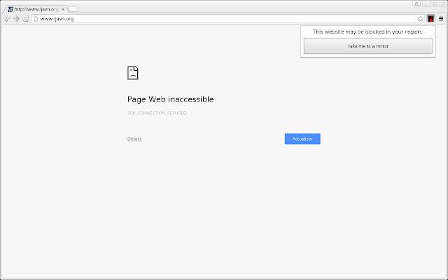 RSF Censorship Detector