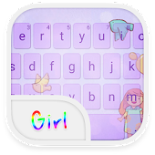 Emoji Keyboard-Girl