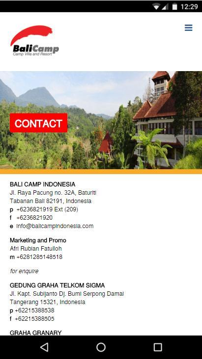 Bali Camp Indonesia- screenshot