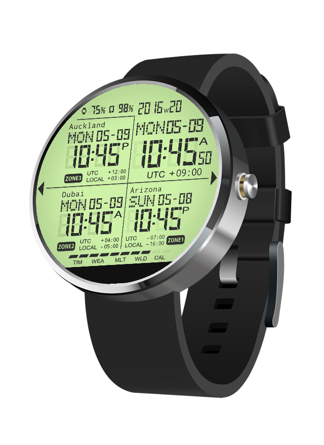 S03 WatchFace for Moto 360- screenshot