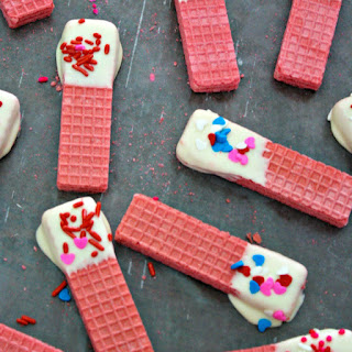 Sweetheart Cheesecake Wafers
