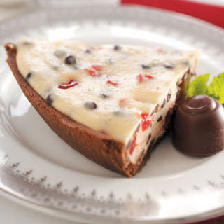 Chocolate Chip Cherry Cheesecake