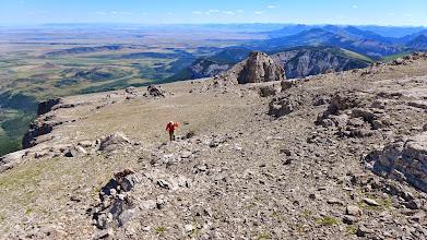 Photo: 2014 - Tim headed toward the summit.