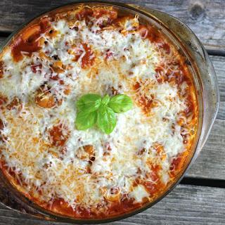 Chicken Pasta Tomato Sauce Casserole Recipes.