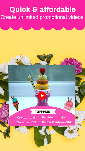 Marketing Video, Promo Video & Slideshow Maker 28.0 screenshots 4