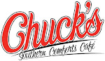 Logo for Chuck's Southern Comforts Cafe