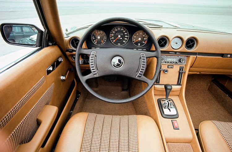 The classic roadster gained a driver's airbag for the first time in 1982.