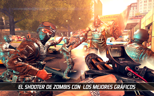 UNKILLED - Supervivencia contra horda zombi Screenshot