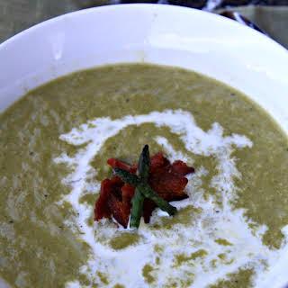 Cream of Asparagus Soup.