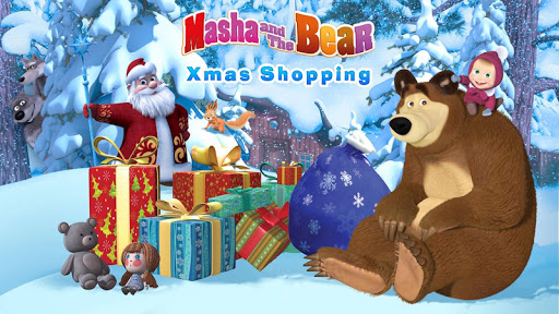 Masha and The Bear: Xmas shopping 1.0.4 screenshots 1