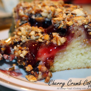 Cherry Crumb Coffee Cake