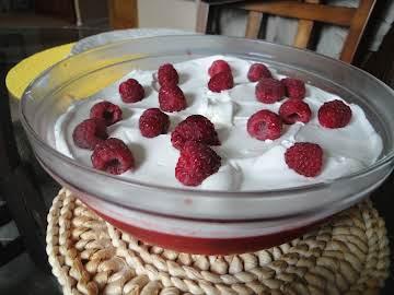 Raspberry Jello Salad