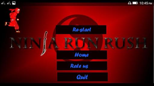 Ninja Run Rush