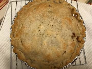 Old Fashioned Apple Cider Pie