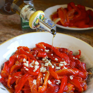 Italian Style Red Pepper Antipasto