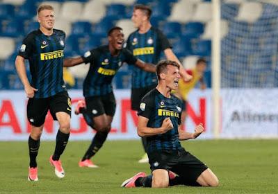 Avec un Belge élu meilleur joueur du tournoi, l'Inter remporte l'Otten Cup !