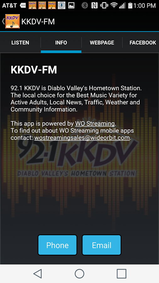 KKDV Mobile Music- screenshot