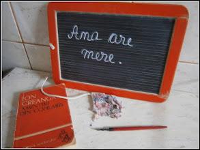 Photo: Tablita cu stil folosite de elevii claselor I - pana in 1945 sursa. Facebook, Ioan Bembea https://www.facebook.com/photo.php?fbid=591623767579705&set=a.143176589091094.35246.100001962620113&type=1&theater
