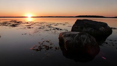 Photo: Mirror sunset at Kolkböte