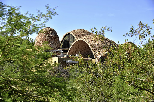 The museum and interpretive centre in the Mapungubwe National Park.