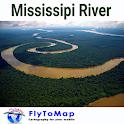 Mississipi River Map Navigator icon