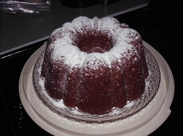 Eggnog Spice Bundt Cake Recipe