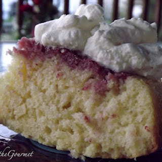 Sour Cream Cake with Grape Sauce!!!