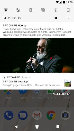 ZEIT ONLINE - Nachrichten 1.9.7 screenshots 4