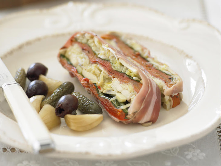 Mushroom, Leek and Prosciutto Terrine Recipe | Yummly