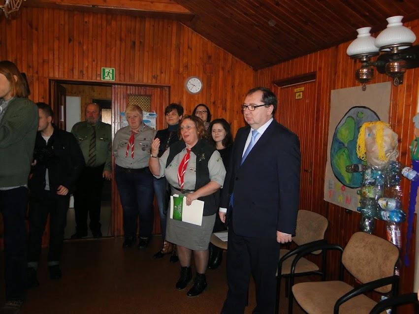 Z wizytą wOśrodku Hufca Lubliniec