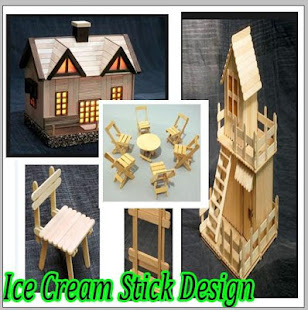 Ice Cream Stick Design