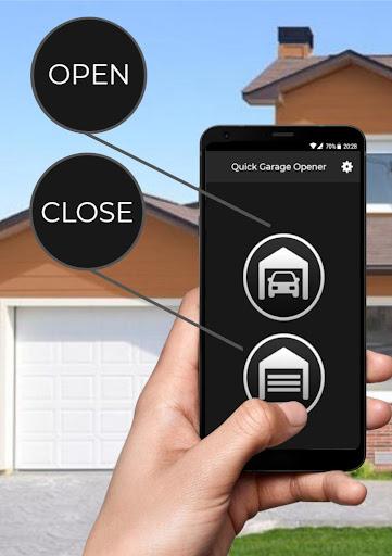 Quick Garage Opener - Predefined SMS 이미지[3]