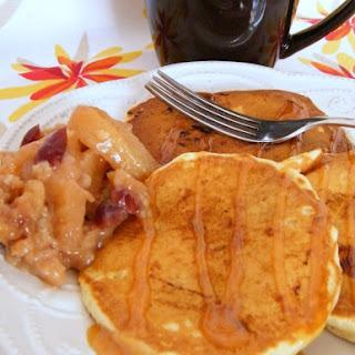 Apple Cranberry Crisp Pancakes