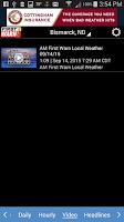Screenshot of KFYR-TV Weather