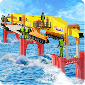 Modern Bridge Construction Sim Builder Game