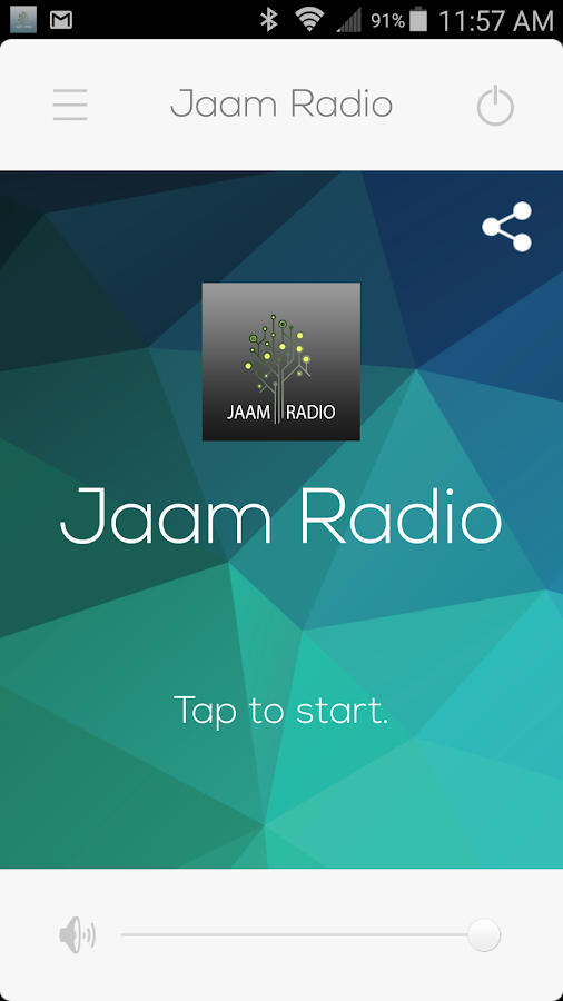 Jaam Radio- screenshot