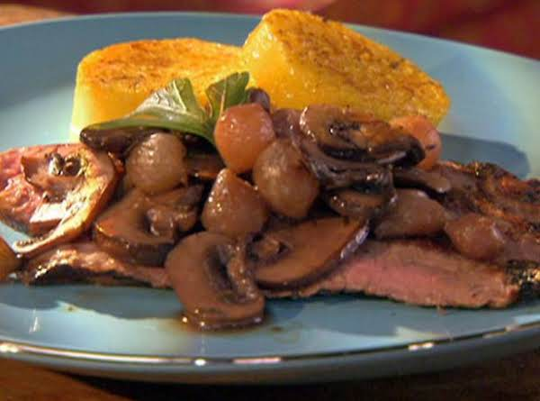 Mushrooms And Onions In Port Recipe