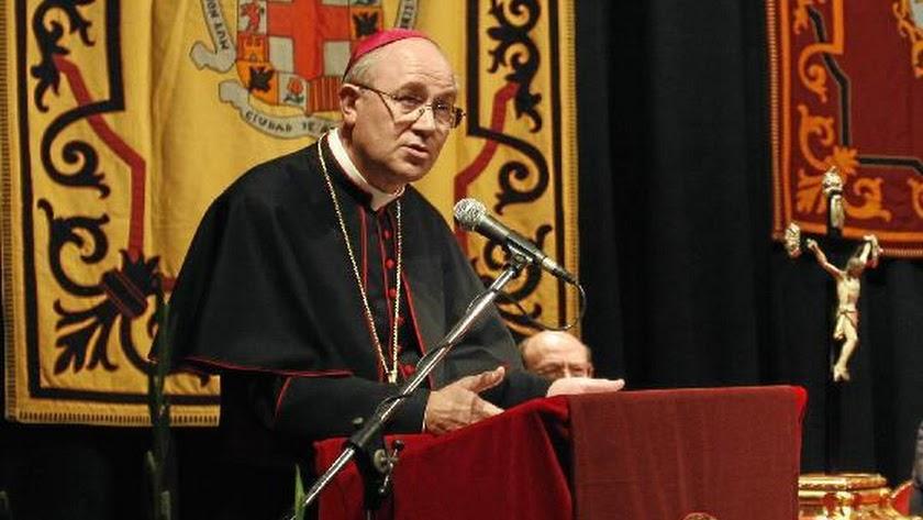 El obispo de Almería, en una imagen de archivo.