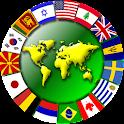 Capital Map Flag icon