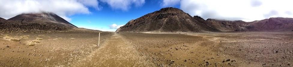 Nowa Zelandia, Tongariro Alpine Crossing, panorama