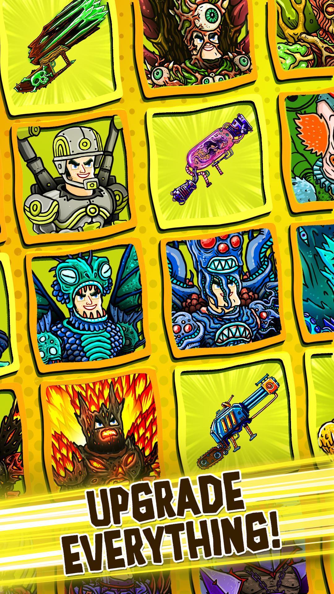 Tap Busters: Galaxy Heroes screenshot #3