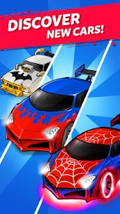 MERGE BATTLE CAR MOD APK BEST IDLE CLICKER TYCOON GAME DOWNLOAD FREE 4