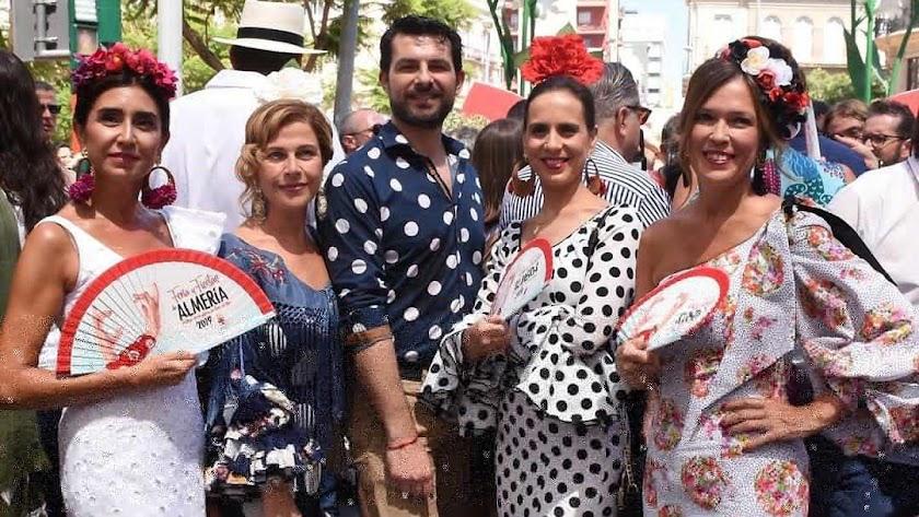 Sus trajes  son grandes protagonistas de la Feria.