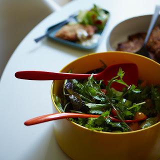 Green Salad with Italian Vinaigrette.
