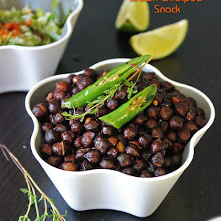Spiced Brown Chickpea Snack